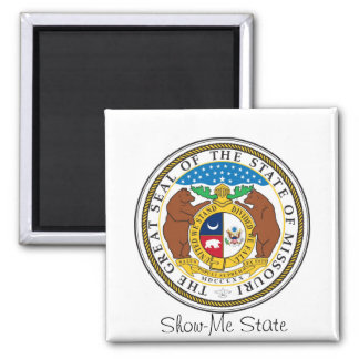 Missouri State Seal and Motto Magnet