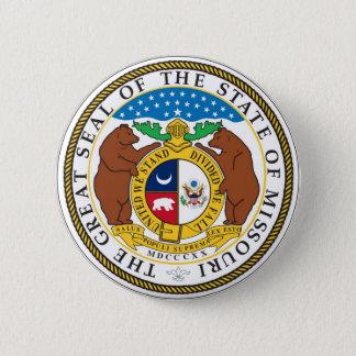 Missouri State Seal and Motto Pinback Button