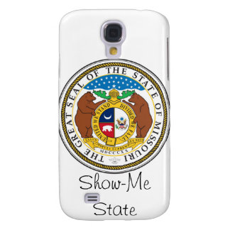 Missouri State Seal and Motto Samsung Galaxy S4 Cover