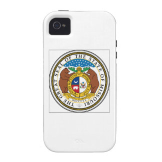 Missouri State Seal iPhone 4 Cases