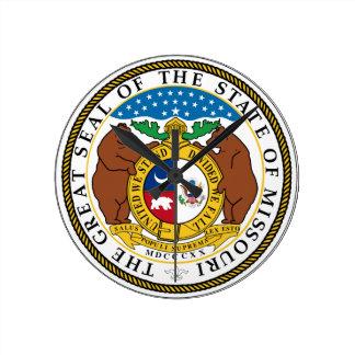 Missouri State Seal Clock