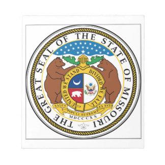 Missouri State Seal Memo Pads