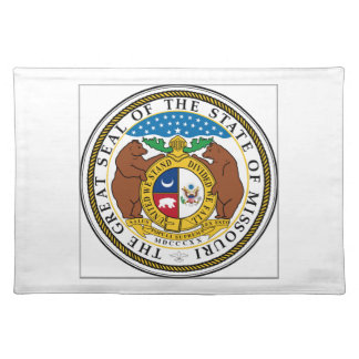 Missouri State Seal Placemats