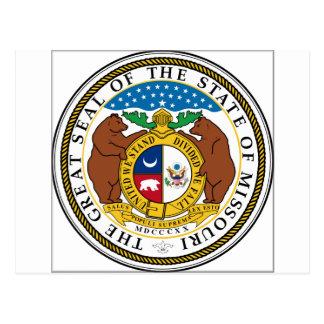 Missouri State Seal Postcard