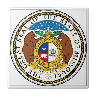 Missouri State Seal Tile