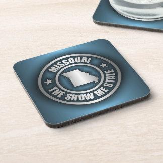 """""""Missouri Steel (Blue)"""" Drink Coasters"""