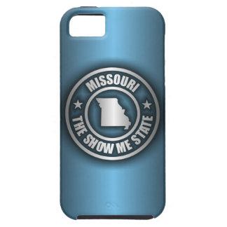 """Missouri Steel (Blue)"" iPhone 5 Cases"