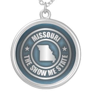 """Missouri Steel (Blue)"" Necklace"