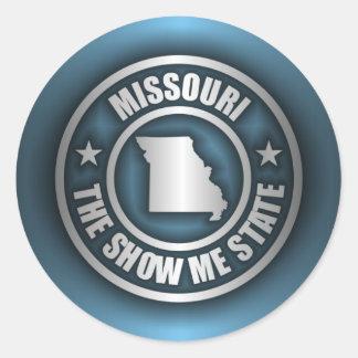 """Missouri Steel (Blue)"" Stickers"