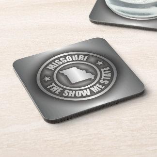 """""""Missouri Steel"""" Drink Coasters"""