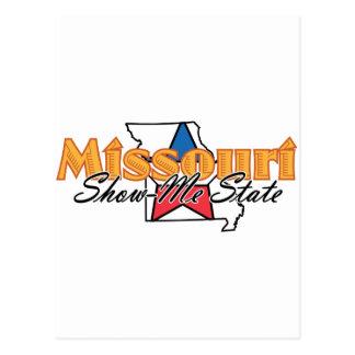 Missouri Tarjeta Postal