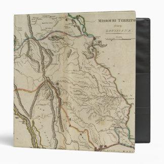 Missouri Territory formerly Louisiana 3 Ring Binder