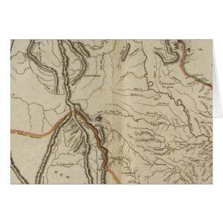 Missouri Territory formerly Louisiana Card
