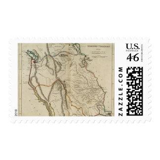 Missouri Territory formerly Louisiana Stamps