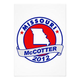 Missouri Thad McCotter Invitations