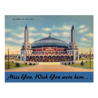 Missouri, The Arena, St. Louis Post Cards