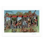 Missouri - The Ozarks - Large Letter Scenes 2 Postcard