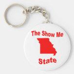 Missouri: The Show Me State Keychain