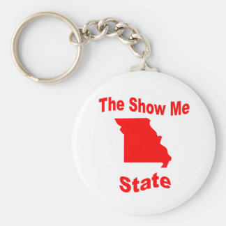 Missouri: The Show Me State Key Chains