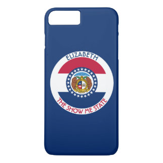 Missouri The Show Me State Personalized Flag iPhone 7 Plus Case