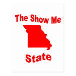 Missouri: The Show Me State Postcard