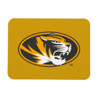 Missouri Tiger Logo Rectangular Photo Magnet