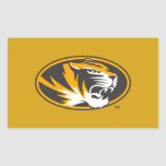 Missouri Tiger Logo Rectangular Sticker