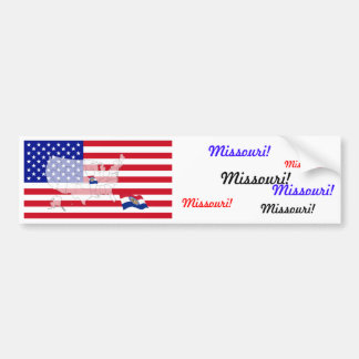 Missouri, USA Bumper Sticker