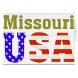 Missouri USA! Card