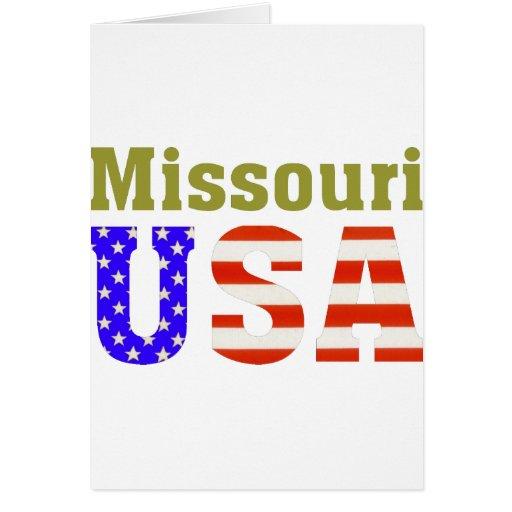 Missouri USA! Cards