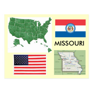 Missouri, USA Postcard