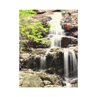 Missouri Waterfall Stretched Canvas Print
