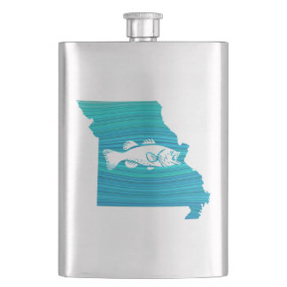 Missouri Wave Fishing Flask