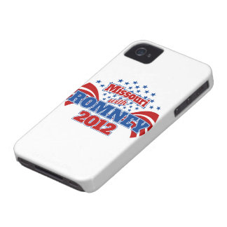 Missouri with Romney 2012 iPhone 4 Covers