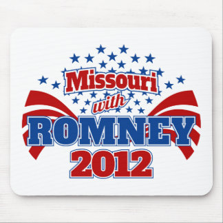 Missouri with Romney 2012 Mouse Pad