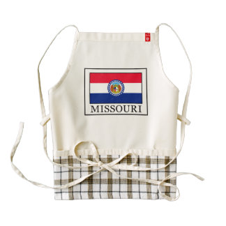 Missouri Zazzle HEART Apron