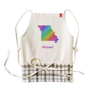 Missouri Zazzle HEART Apron