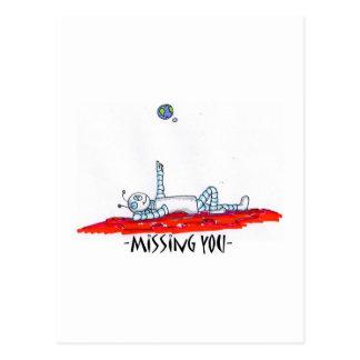 misssing le tarjeta postal