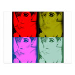 MissTeri85 Warhole style pic Post Card
