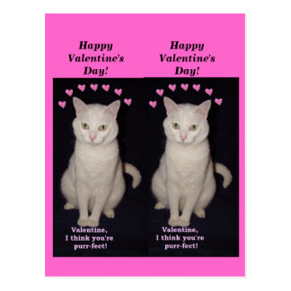 Missy Bookmark Valentines Postcard