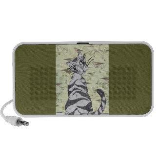 Missy Cat 01 iPod Speakers