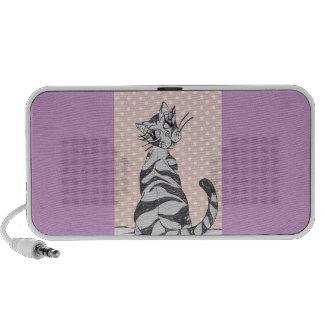 Missy Cat 02 iPod Speakers