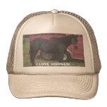 missy, I LOVE HORSES! Mesh Hats