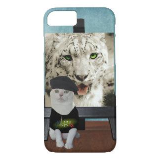 Missy's Inner Snow Leopard iPhone 8/7 Case