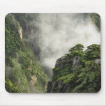 Mist among the peaks and valleys of Grand Canyon Mousepads