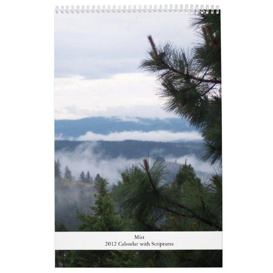 Mist and Scripture Calendar 2012