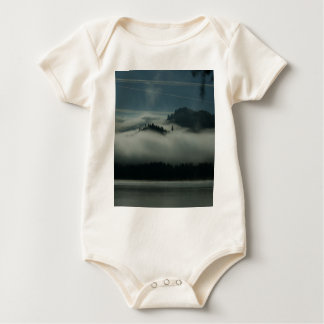 Mist at the Lake Baby Bodysuit