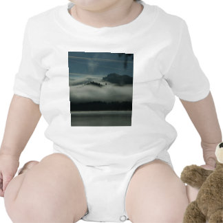 Mist at the Lake Baby Bodysuits