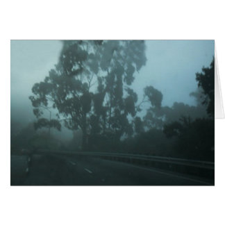 Mist Stationery Note Card