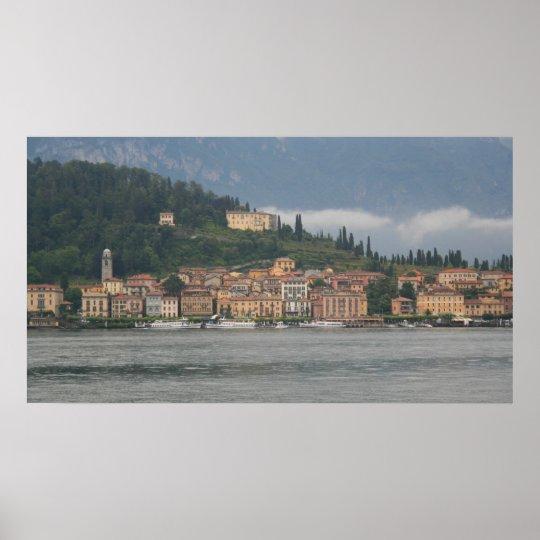 Mist on Bellagio Poster